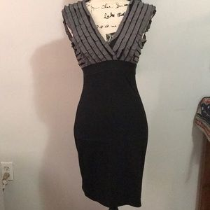 Max Studio Vneck Dress
